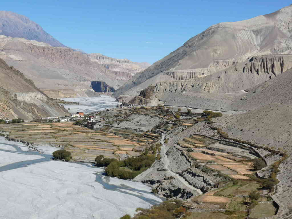 Kagbeni near Upper Mustang (Annapurna-region)