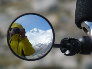 Mt Everest in mirror