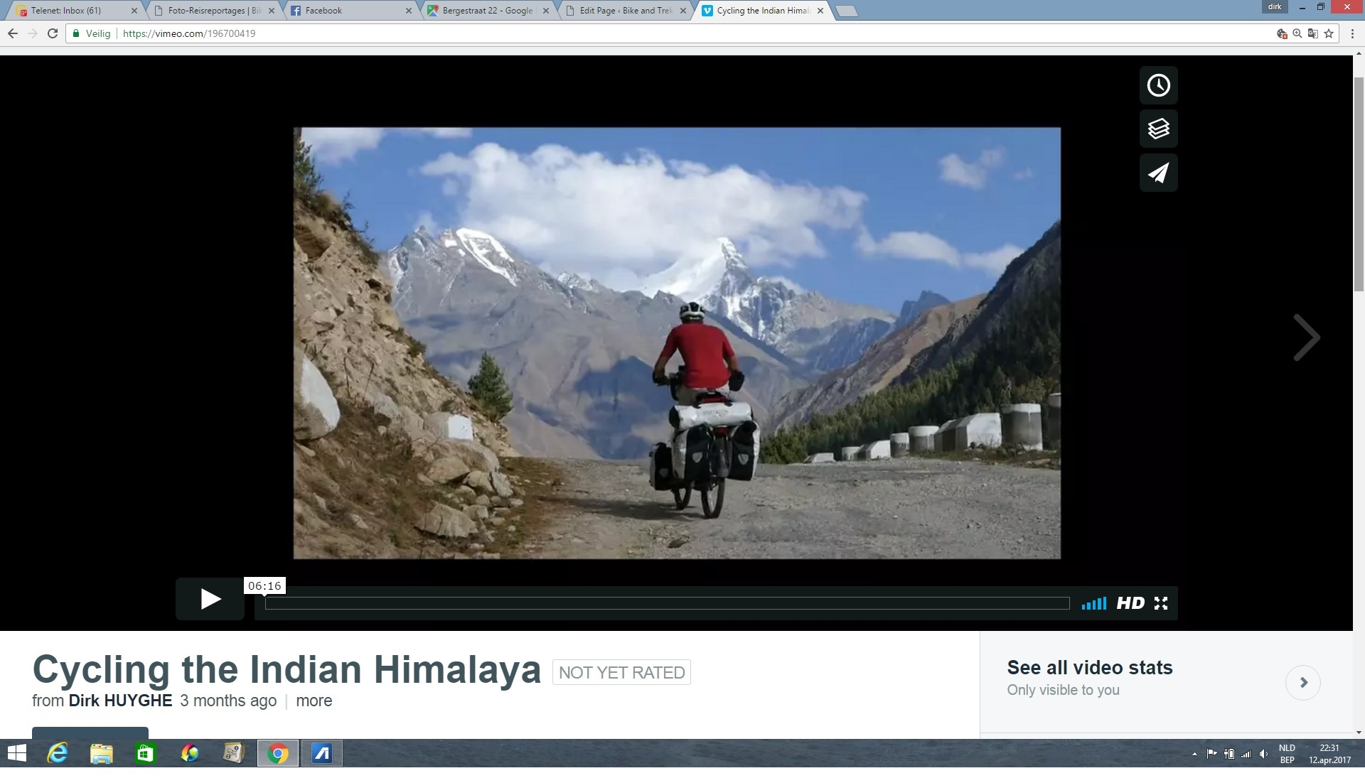 foto film vimeo cycling himalaya