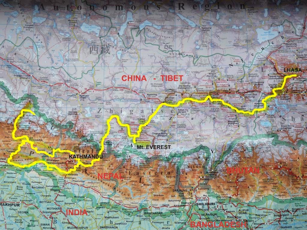 kaart himal met route P1250842-2-klein formaat xxx