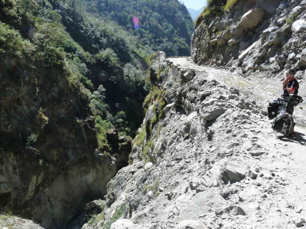 on the way to Lete - Annapurnatrek