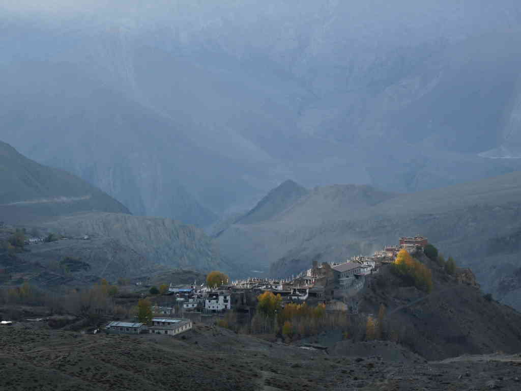 small village near Muktinath (Annapurna)